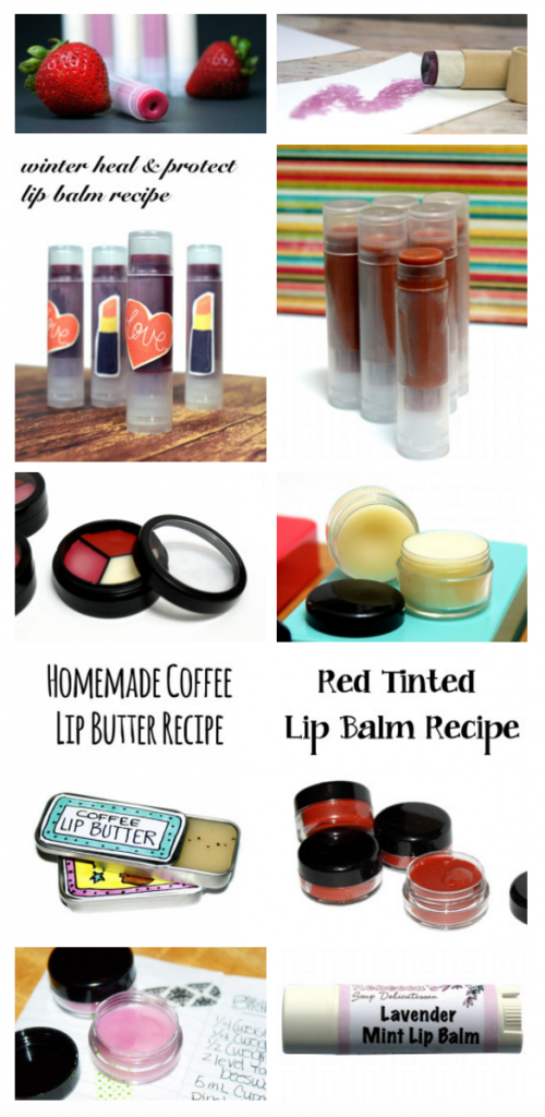 Love lip balm? Learn how to make your own lip balm with fifteen fantastic homemade lip balm recipes perfect for everyday use or gift giving.