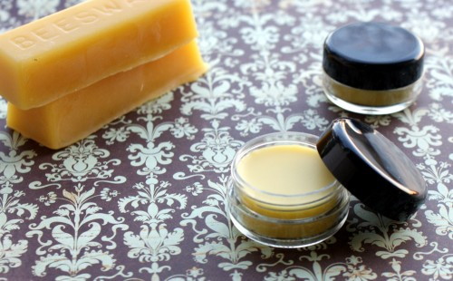 This naked natural homemade lip gloss recipe adds rich moisture to lips in need!