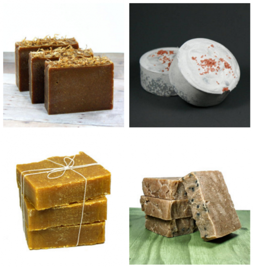A collection of cold process palm free soap recipes for soapmakers who wish to make homemade cold process soaps without palm oil.