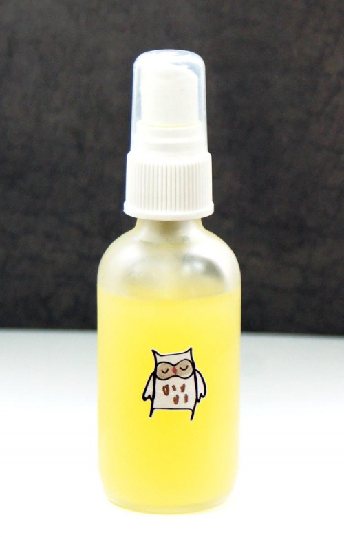 This shea butter body spray recipe is fantastic for dry skin! Made with moisturizing shea nut oil and healing neem oil, this shea butter body spray leaves skin feeling silky smooth and soft and can be custom scented with your favorite fragrance.
