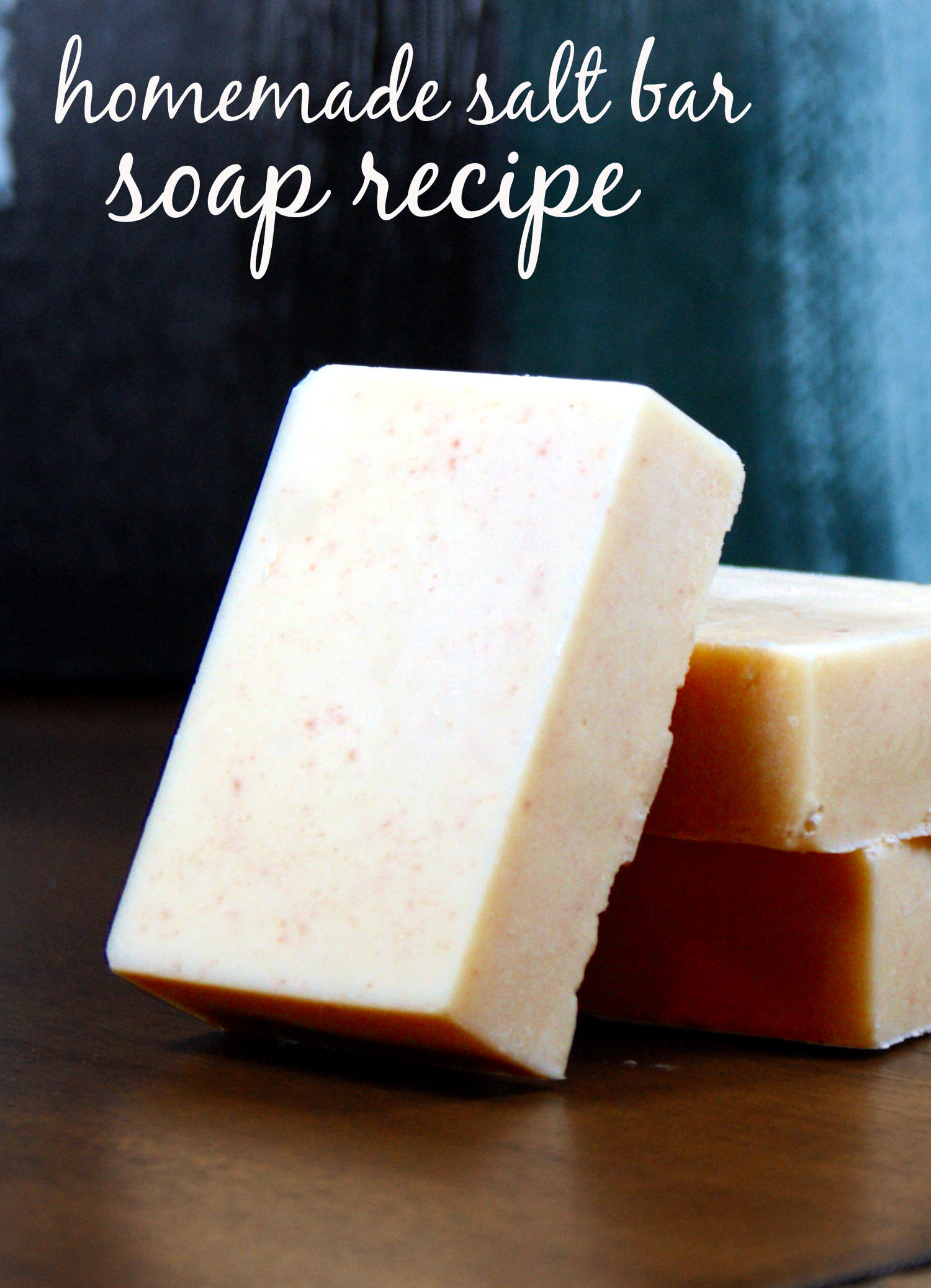 This pink salt and sal butter soap recipe contains skin conditioning sal butter and mineral rich pink Himalayan salt to detox, promote healing and nourish skin.