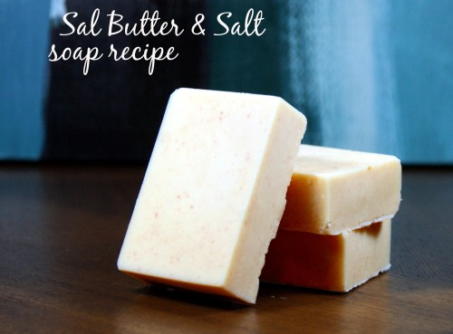 This homemade pink salt and sal butter soap recipe contains a high percentage of skin conditioning sal butter and mineral rich pink Himalayan salt that promotes healing aids in detoxing and nourishing skin.