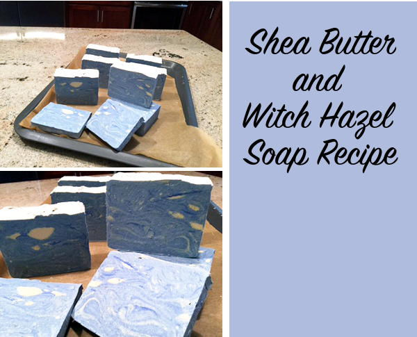 I LOVE these homemade soap photographs sent in by Marilyn, one of much appreciated and amazing blog readers. Marilyn created the homemade soap pictured using my Homemade Shea Butter & Witch Hazel Soap Recipe. Aren't they just beautiful? They remind me of Van Gogh's Starry Night.