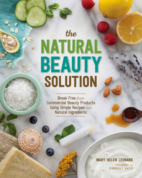 The Natural Beauty Solution - A step-by-step guide to replacing commercial beauty products with a 100% natural routine. It features two-dozen easy-to-follow, customizable recipes for natural skin care that are not only provide a healthy alternative to mass-produced products, but will also make your skin and hair look their best.