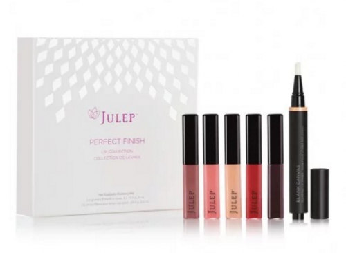 Julep's Perfect Finish Lip Collection regular $65 is now $19.99 their End of Season Sale.
