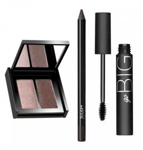 Julep's Mocha Minx Shadow, Eyeliner and Mascara Collection regular $60 is now $19.99 during their End of Season Sale.