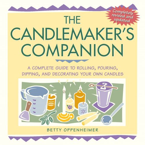 Want to learn about making your own candles? Check out the book, The Candlemaker's Companion: A Complete Guide to Rolling, Pouring, Dipping, and Decorating Your Own Candles, by Betty Oppenheimer. This book contains illustrated directions, complete source lists, and plenty of practical advice for beginner candlemakers.