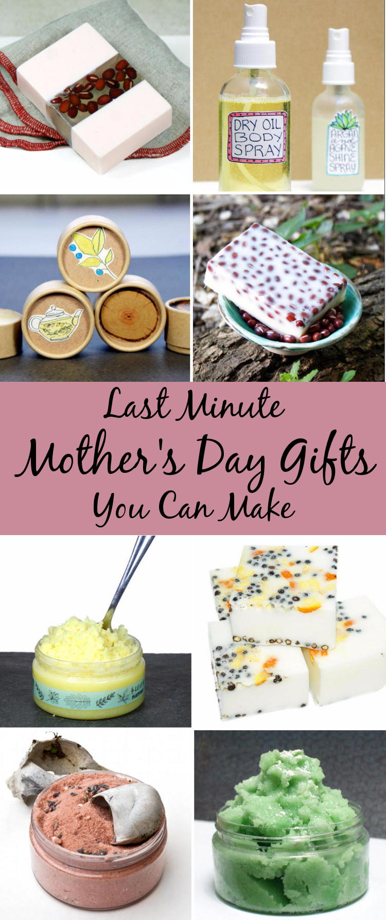 If you're still on the hunt for last minute Mother's day gift ideas, then you'll love this collection of Mother's day gift ideas you can DIY for mom in an afternoon that are ready for gifting the same day!