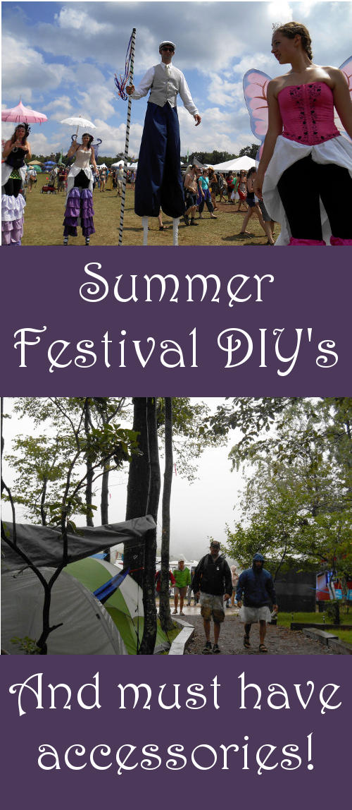 These must have festival accessories and summer festival DIY's are sure to make your festival experience this year even better!