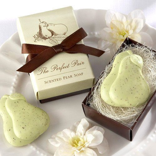 Looking for wedding favor ideas for your DIY wedding? These best selling The Perfect Pair soap favors are lovely as wedding favors, engagement party favors and wedding shower favors and can help you save time when planning your wedding.