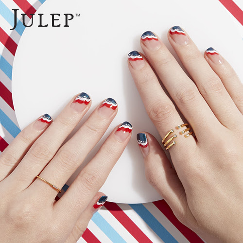 4th of July Nail Art Inspiration - Click through now for three great DIY 4th of July Nail Art Ideas!