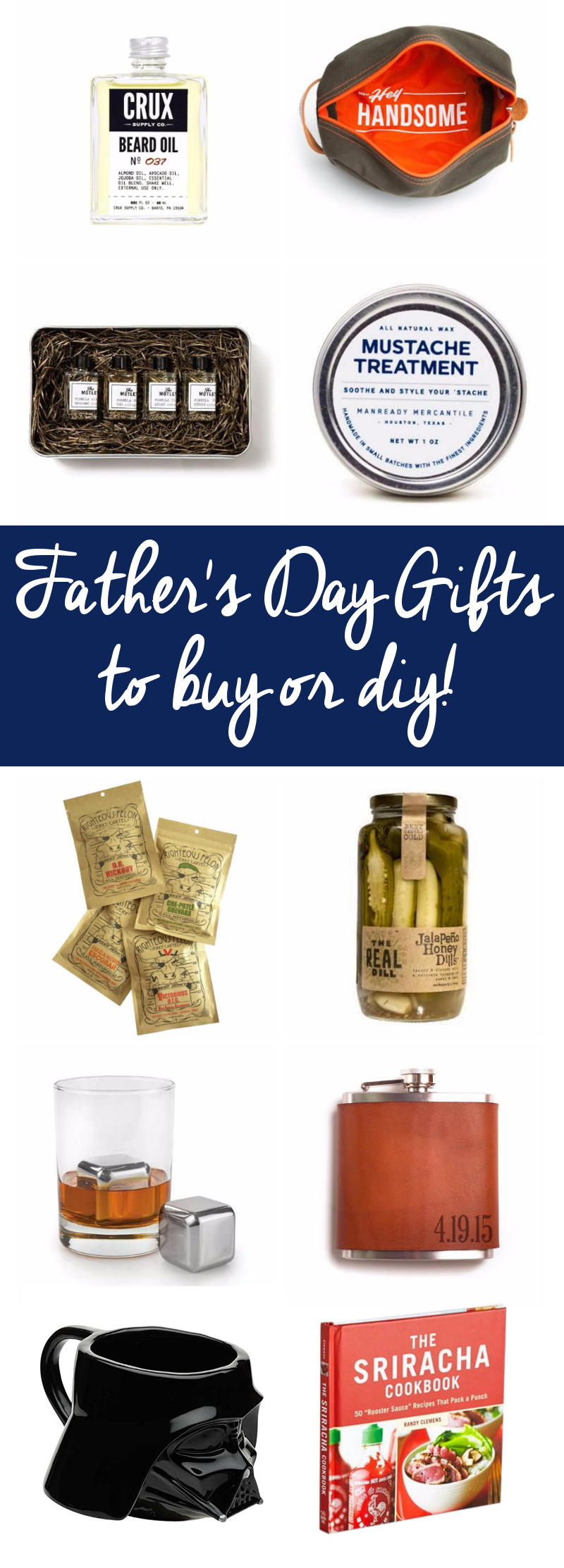 50 Father's Day gifts that you can buy or DIY! Browse these fantastic Father's Day gift ideas for the perfect Father's Day gift for Dad!