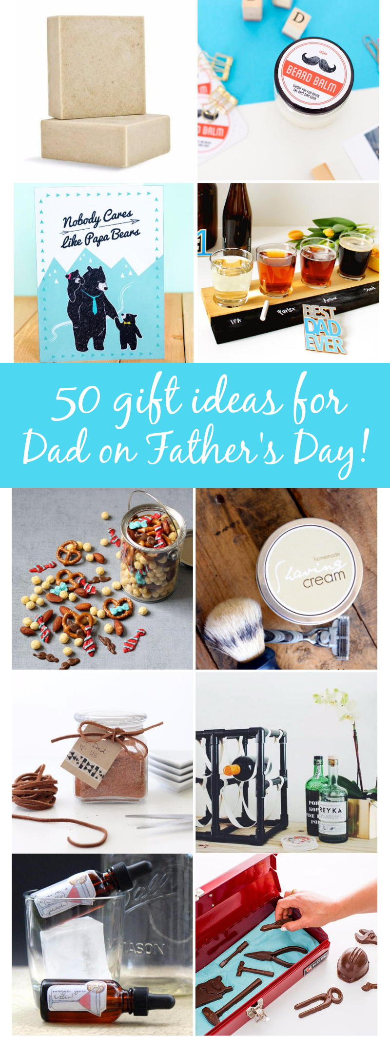 50 Father\'s Day Gifts You Can Buy Or DIY | Soap Deli News | Bloglovin\'