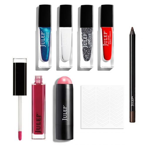 Free Star Spangled 8-Piece Beauty Gift from Julep when you join their monthly beauty box program.