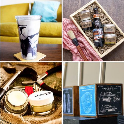 Homemade Father's Day Gifts To Buy or DIY! A collection of 50 fantastic Father's day gifts that are right up Dad's alley!