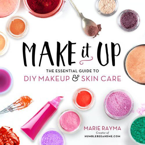 Make It Up walks you through the natural ingredients available in most kitchens, online, or at local food stores and explains how natural oils, butters, clays, and minerals can easily replace petroleum products, artificial colors, and lab-created mystery fragrances. It follows with starter makeup recipes for things like lip balm, lotions, and face masks, then moves into beauty recipes for foundations, lipsticks, eyeliners, blush, bronzers, and more.