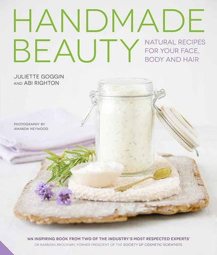 Handmade Beauty explores the different ingredients, equipment and methods you need to make your own handmade cosmetics including basic principles, such as making infusions, as well as storage and safety. This is followed by 37 skin care recipes for the face, body and hair, plus suggestions for adaptations. These beauty and skin care recipes cater to all skin and hair types, and include recipes for face and body scrubs, cleansers, toners, moisturizers, hand creams, lip balms & more!