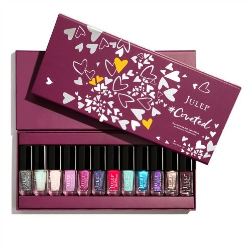 Right now when you subscribe to the monthly Julep Beauty Box they'll send you a free Coveted 12 Piece Mini-Nail Color gift valued at $84!