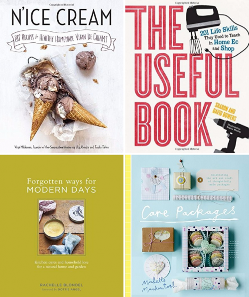 Fifteen new and fantastic books to read to nurture your creative side this summer. From recipes to writing to crafts, you're sure to discover something wonderful inside each one!