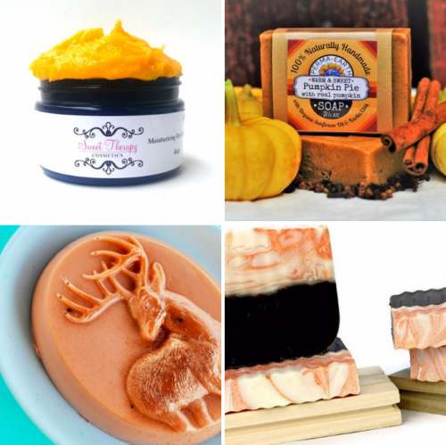 It's fall and you know what that means - pumpkin spice! And really, how can you resist the spices that combine to bring you exceptional flavor, fragrance and warmth! Following are just a few of my favorite pumpkin spice bath and body products.