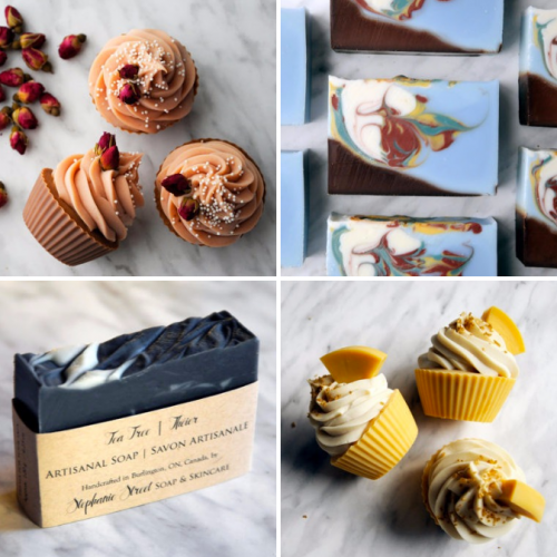 Stephanie Street Soap & Skincare offers delectable soap cupcakes, artistic soap bars, shaving sets, all-natural lip and body balms, and luxurious bath products.