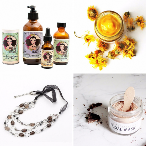 Favorite Things and Handmade Gift Ideas // From handmade bath and beauty products to soy candles and jewelry, these are just a few of my favorite recent finds! Buy them for yourself as a special treat or a simple everyday luxury or purchase as gifts for your most favorite friends!