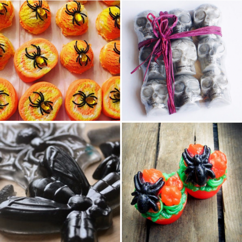 A collection of spooktacular Etsy Halloween favorites to help you celebrate this fantastic holiday! Halloween soaps and bubble bars, Halloween decorations and more!