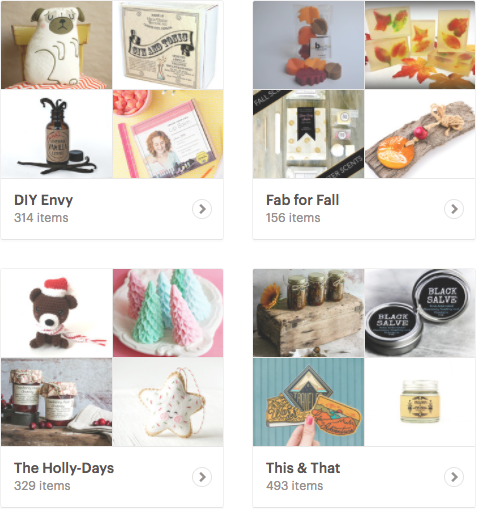 Handmade Holiday Gift Guide and Etsy Favorites