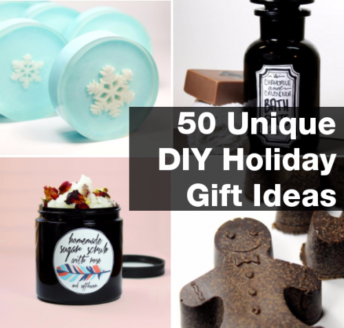 50 Unique DIY Christmas Gift Ideas