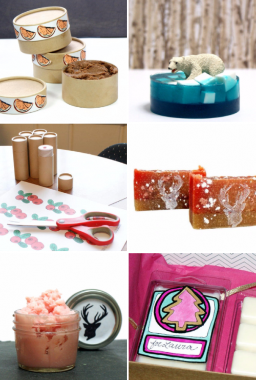 Need DIY Christmas gift ideas? Look no further! Click through to Soap Deli News blog now for a huge collection of DIY Christmas gift ideas for friends and family!