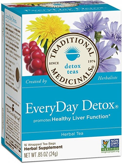 Traditional Medicinals EveryDay Detox Tea is a must have staple for your kitchen pantry!