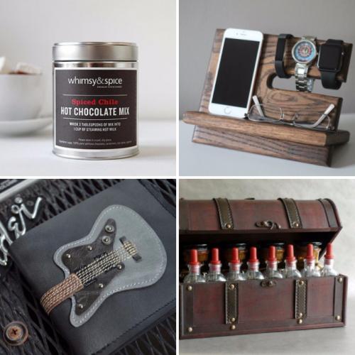 Handmade Holiday Gifts for Guys