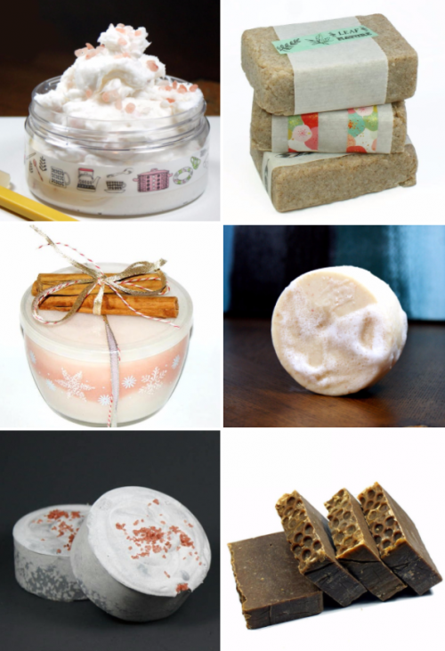 Homemade Soap Gift ideas for the Holidays and Other DIY Christmas Gifts You Can Make for Friends and Family
