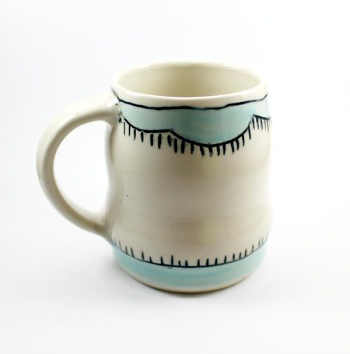 Handmade Pottery Mug by Entropy Designs