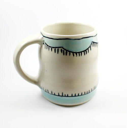 Handmade Pottery Mug by Entropy Designs