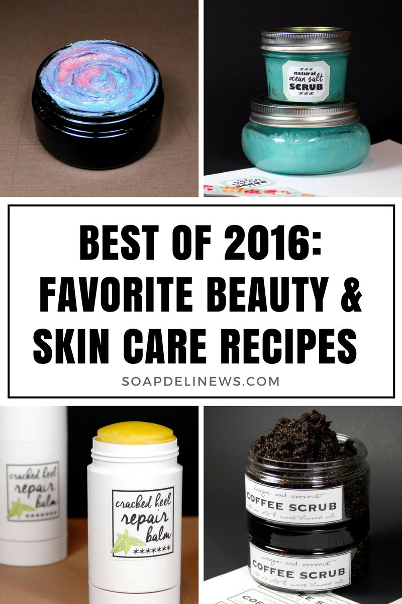 These Beauty and Skin Care Recipes are some of my favorites! Learn how to make your own to enjoy yourself or to give as homemade gifts throughout the New Year!