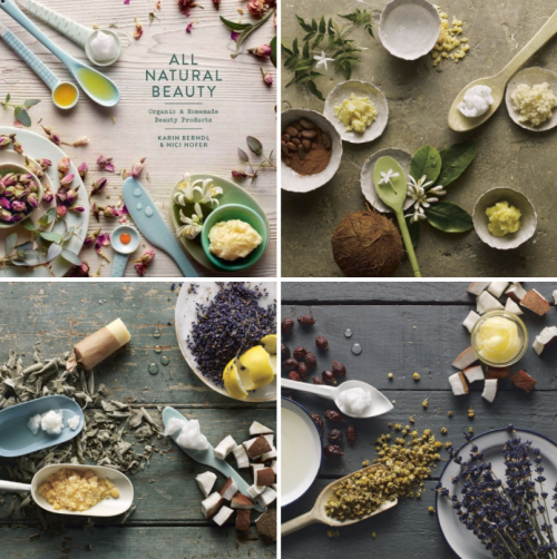 For homemade beauty recipes, check out the book, All Natural Beauty: Organic & Homemade Beauty Products! Written by Karin Berndl and Nici Hofer, this book contains over 40 natural homemade beauty recipes and products to make at home!