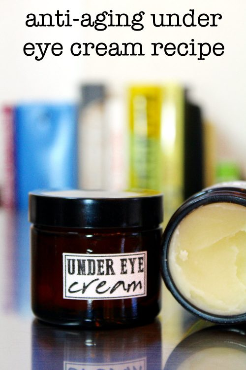 My DIY anti-aging under eye cream with hyaluronic acid hydrates skin, improves elasticity and helps to reduce the appearance of fine lines and wrinkles.
