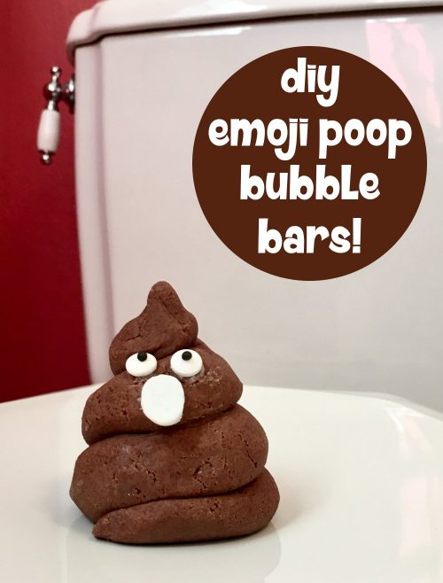 These DIY poop emoji bubble bars are sure to make bath time a little more interesting. Discover the recipe to make your own DIY poop emoji bubble bars now at Soap Deli News blog! (Just click through!)