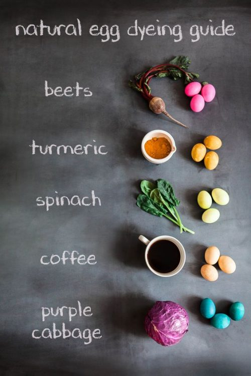 Learn how to dye Easter eggs with natural plant based dyes at Babble.