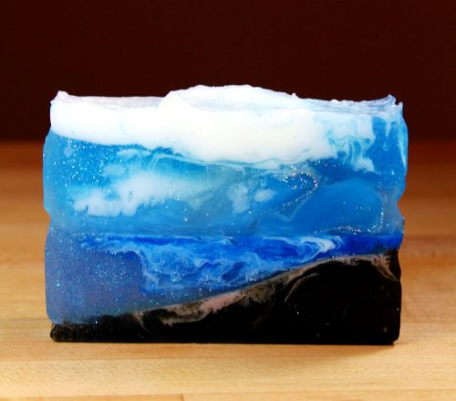 How to make melt and pour ocean soap!