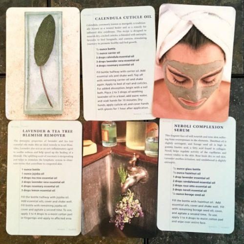 The Spa Deck by by Barbara Close (Author) and Susie Cushner (Photographer) is a treasure filled collection of both simple and all natural spa recipes that you can make at home.