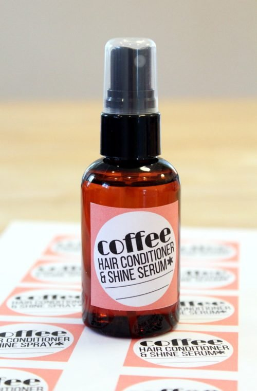 Love your locks with these leave in coffee hair conditioner & shine spray recipes! Formulated especially for dry or damaged hair, these recipes both utilize the power of camellia seed oil and babassu oil. Both of these oils have similar properties in hair and skincare as coconut oil making them especially suited for those sensitive to or allergic to coconut oil.