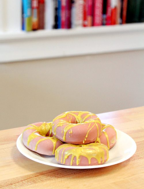 This DIY donut soap is made using the cold process soapmaking method. It's palm free and is formulated to create a high conditioning/low cleansing soap.
