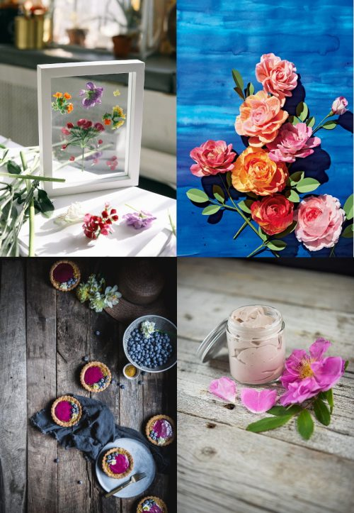 A beautiful collection of homemade Mother's Day gifts you can DIY!