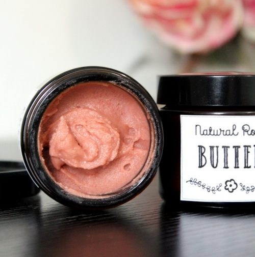 Looking for a vegan friendly moisturizer DIY? This rose body butter recipe fits the bill! Made with only natural ingredients, this rose body butter nourishes skin without leaving it feeling greasy.
