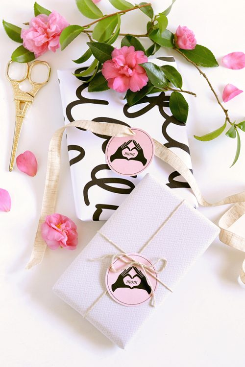 Printable Mother's Day Gift Tags via Make and Tell Blog