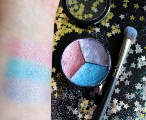 DIY Unicorn Eyeshadow in a Tri-Color Pressed Palette! Learn how to make your own scented DIY unicorn eyeshadow. This fun trio of pressed eyeshadows offers lasting pastel color and shimmer that's perfect for eyes. Once you've mastered these colors, be sure to try out your own custom DIY unicorn eyeshadow colors and scents!