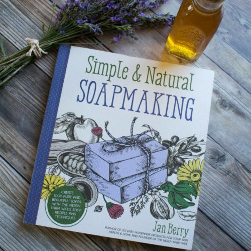 Herbalist Jan Berry's new soapmaking book, Simple & Natural Soapmaking, is a comprehensive guide to creating truly natural, eco-friendly homemade soaps with foraged botanicals, essential oils and other common ingredients. Beginning soapmakers will discover detailed soapmaking tutorials, soapmaking recipes and step-by-step photos to help guide them through the process of modern soapmaking.