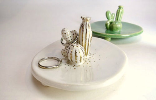 Handmade Cactus Ring Dish from Chiko Craft!